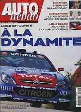 AUTO HEBDO n°1541 du 12 Avril 2006 MERCEDES CLK63 AMG TOUR DE CORSE