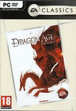 DRAGON AGE ORIGINS for PC XP/VISTA/7 SEALED NEW