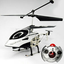 3CH RC Remote Control Mini Helicopter Gyro silver Easy Fly
