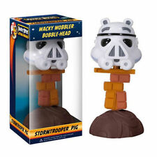 Wacky Wobbler Bobble-Head – Stormtrooper Pig - Angry Birds Star Wars - Funko New