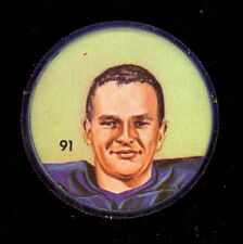 1963 CFL NALLEY'S POTATO FOOTBALL SP COIN 91 ROGER HAGBERG WINNIPEG BLUE BOMBERS