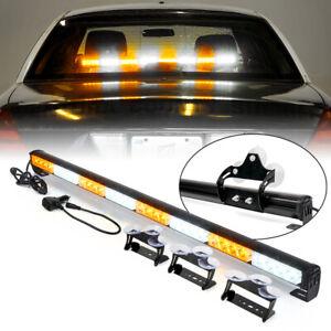 """Xprite 35"""" LED Strobe Light Bar Traffic Advisor Emergency Hazard Warning Strips"""