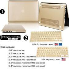 Metalic Colour Hard Case Shell Cover For Apple Macbook air pro retina 11 13 15