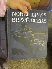 Vintage children's bok Noble Lives and Braves Deeds Clara Mateaux - FOL