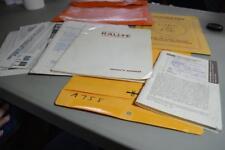 1985 1986 FORD FLEETWOOD JAMBOREE RALLYE OWNERS MANUAL GUIDE BOOK motorhome A758