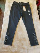 Levis 721 High Rise Skinny ANKLE Black Jeans WOMENS SZ 12 31 X 28 BRAND NEW!