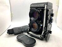 "【Rare  ""S"" MINT 】Mamiya C330 Pro S + Sekor S 80mm f/2.8 Blue Dot Lens from Japan"
