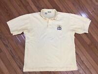 Cutter & Buck Men's Yellow Ryder Cup Oakland Hills Golf Polo Shirt Size XL