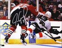 Jeremy Roenick authentic signed NHL hockey 8x10 photo W/Cert Autographed A0005
