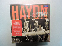 Haydn: The Complete String Quartets Aeolian String Quartet 22 CD Box Set Decca