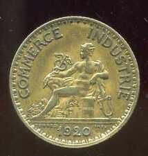FRANCE  FRANCIA  1 franc  CHAMBRE DE COMMERCE 1920 ( TB ++ )
