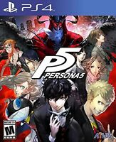 Persona 5 PlayStation Hits Standard Edition For PlayStation 4 PS4 RPG PS5 8E