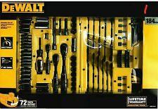 DeWalt Mechanic Tool Set, 184 Piece