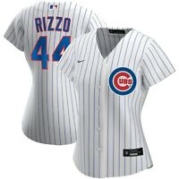 Brand New 2021 MLB Chicago Cubs Anthony Rizzo 44 Nike Womens Home Replica Jersey