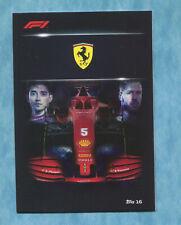 2020 Topps Turbo Attax #16 Ferrari Team - Sebastian Vettel, Charles LeClerc