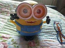 Minion toy talks moves poseable Thinkway Toys