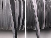 1m, 3m, 5m Reflektierendes Paspelband zum Einnähen Reflektorband 10 mm 2 Farben