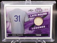 Mike Piazza 2021 Leaf Lumber Late Round Legends Game Used Bat /9 SSP