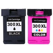 2x Cartuchos de tinta para HP 300 XL Deskjet F4580 F2480 F4280 D1660 D2660 D5560