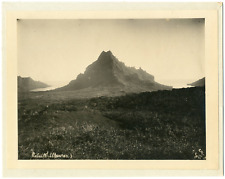 Gauthier Tahiti, Papeete,  Vintage  print, Tirage argentique  18x24  189