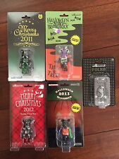 Medicom Bearbrick Lot Halloween Christmas 2010 2011 2012 kaws futura