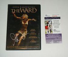 Director John Carpenter Signed The Ward DVD Proof JSA CERT Free Shipping