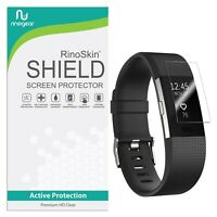 [8-PACK] For Fitbit Charge 2 Screen Protector RinoGear USA Lifetime Replacements