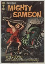 Mighty Samson #7 September 1966 FN The Lost Underworld, Tom Morrow Begins