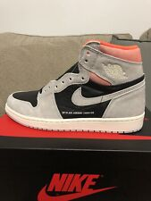 new product 8f4ef 1f0ad Nike Air Jordan 1 Retro High OG Hyper Crimson Neutral Gray Size Men 8.5 DS  NEW