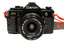 CANON A-1 35mm SLR with 28mm f2.8 Lens