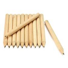 100Pcs Hot Wood HB Short Pencil 8.6cm Eco-friendly Mechanical Graphite Pen Mini