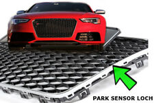 Chrom Rahm Gloss Schwarz Audi A5 Facelift Grill 2012- MESH Wabe RS5 s line S5