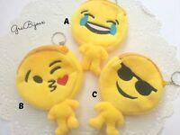 Emoticon emojy kawaii simboli borsellino portachiavi portamonete kawaii cute