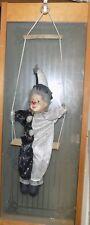 Vintage Clown on a swing