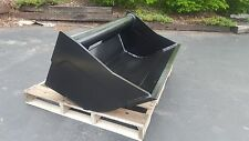 """New 48"""" Wain Roy Style Ditch Cleaning Backhoe Bucket to fit 1/4 yd. Coupler"""