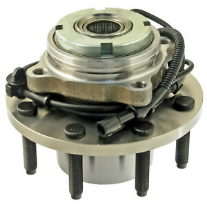 Wheel Bearing and Hub Assembly-4WD, 4-Wheel ABS Front Precision Automotive