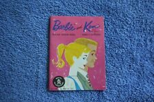 Vintage Barbie Ken Doll Clothing Outfits Booklet Mattel 1961 Excellent