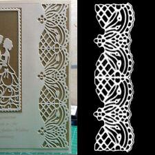 Lace Border Metal Cutting Dies Stencil Scrapbooking Embossing Album Card Making