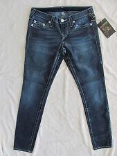 True Religion Skinny Jeans Herringbone Print-Natural Stitch - Size 29- NWT $233