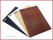 Leather A4 Sheet Self Adhesive Sticky Back Vinyl Craft Faux Leatherette DC FIX