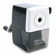 Rapesco 64 Desk Top Pencil Sharpener (black)