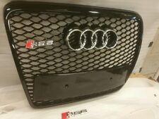 AUDI RS6 Grill A6 a RS6 S6 C6 SE Sline nero Trim, cromato o nero AUDI ANELLI 6