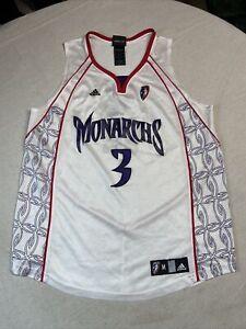 Sacramento Monarchs Wnba Adidas Jersey Size Medium