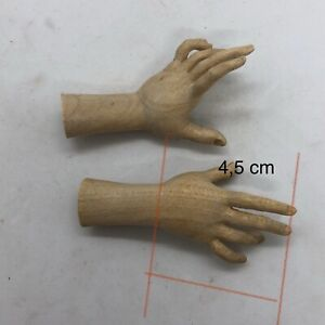 Mani legno for figure donna  wood Feet restauto pastori crib 4,5 Palmo Dita