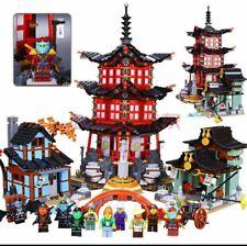 2150pcs Ninjago Temple of Airjitzu 70751 - Brand New Complete Set + Instruction