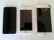 Apple Iphone - Lot of 3 apple iphones- 6, 6, 6 plus for parts
