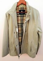Vintage burberry london jacket beige nova check for mens size  52