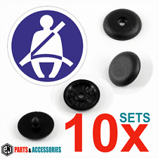 10x sets Seat Belt Buckle Buttons Holders Studs Retainer Stopper Pin Clip Clips