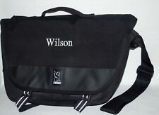 Chrome Buran Messenger Bag. Embroidered With the Name Wilson