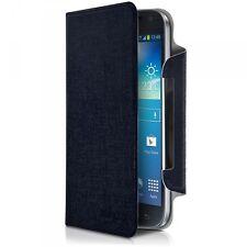 Housse Etui à Rabat Universel XL Couleur Bleu pour smartphone Sharp Aquos Xx